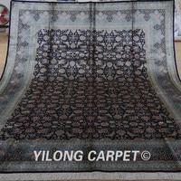 Yilong 9'x12' Traditional Persian handmade rug large vantage persian carpet price (YL1912)