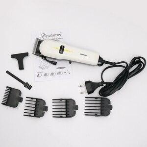 Image 2 - Potężny przewodowe maszynka do włosów elektryczne profesjonalne ścinanie włosów maszyna strzyżenie kit maszynka do włosów regulowany trymer do włosów dla mężczyzn