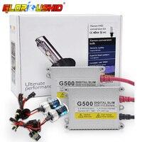 Xenon H7 AC 55W HID Ballast Kit H1 H3 H4 H11 9005 9006 881 D2S HID Bulb Car Headlight 4300k 5000k 6000k 8000k bi xenon h4 lamp
