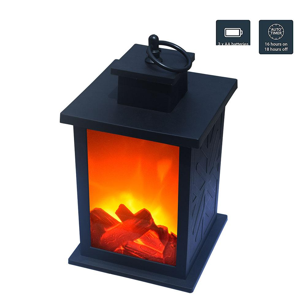 Flame lamp Simulated Camping Lantern LED Outdoor ABS plastic 3-5H Fire