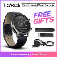 Ticwatch C2 montre intelligente noire Bluetooth GPS Sport montre compatible Android et iOS IP68 étanche NFC Google Pay Original
