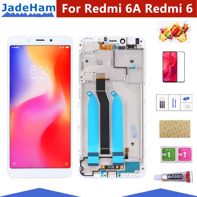 Original 5.45'' LCD For XIAOMI Redmi 6A LCD Touch Screen For Redmi 6A Display Digitizer For Redmi 6 LCD Display Touch Screen