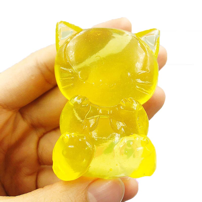 Cute Mochi Squishy Cat Sticky Slow Rising Squeeze Healing Fun Kids Kawaii Kids Adult Toys Stress Reliever Decor Dropshipping