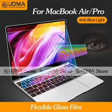 UDMA Anti-Blue Light Flexible Glass Film MacBook Air Pro 12 13 15 16 inch Screen Protector M1 Chip A2337 A2338