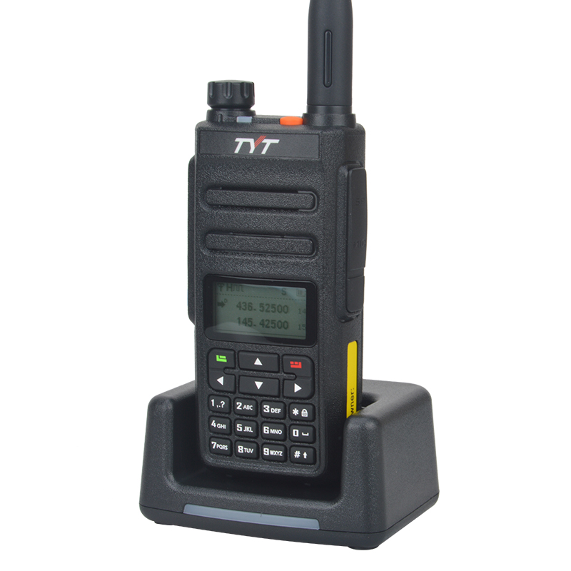 TYT MD-760 walkie talkie VHF UHF dual band dmr digital two way radio