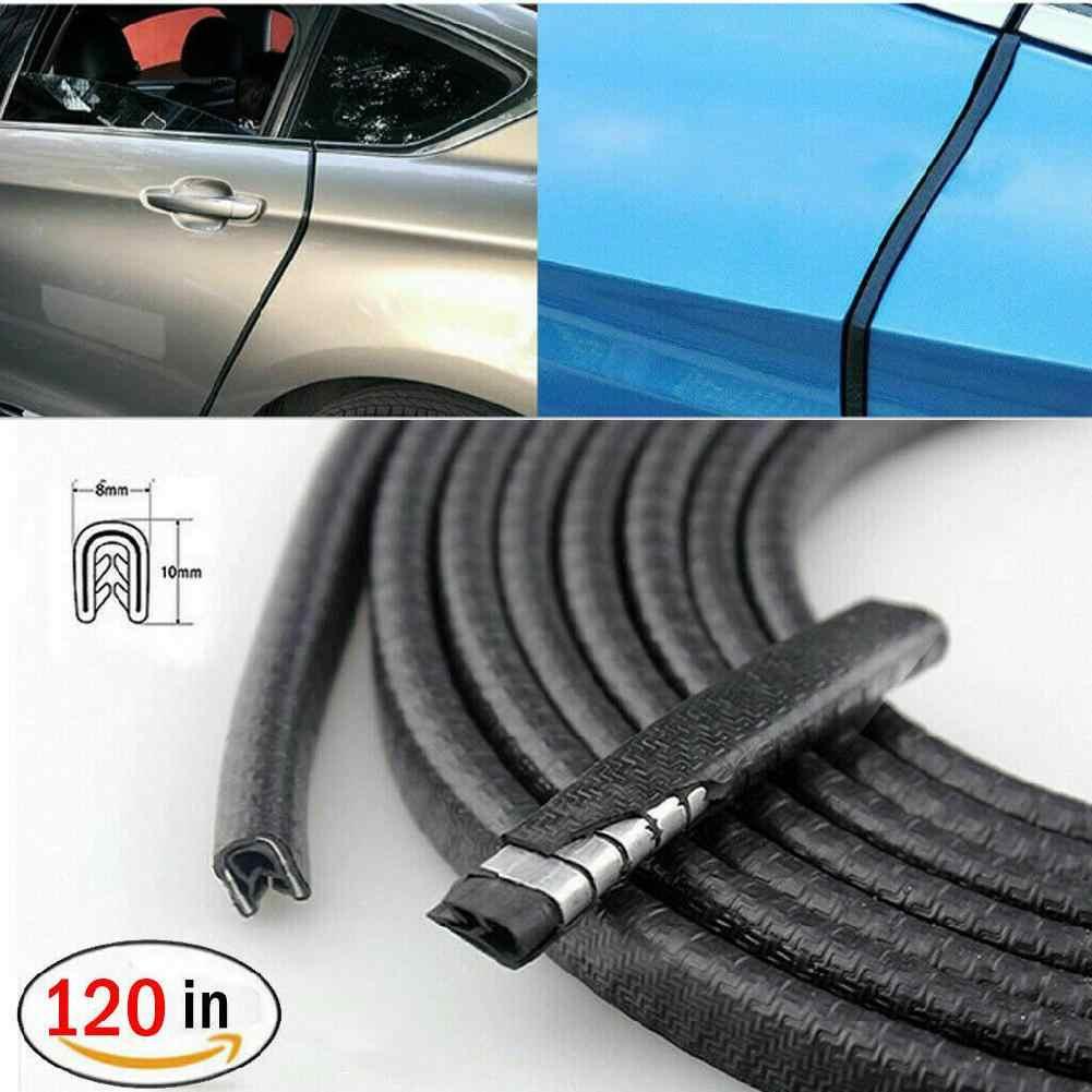 3 m tira de vedação da porta do carro borracha weatherstrip protetor borda guarnição guarda protetor universal painel do carro tiras vedação