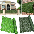 Artificial Ivy Roll Privacy Protection Wall Simulation Garden Fence Fence Retractable Privacy Fence Outdoor Garden Decoration