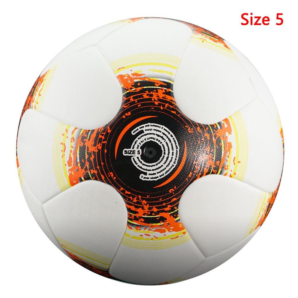 Professional Size5/4 Soccer Ball Premier High Quality Goal Team Match Ball Football Training Seamless League futbol voetbal 11