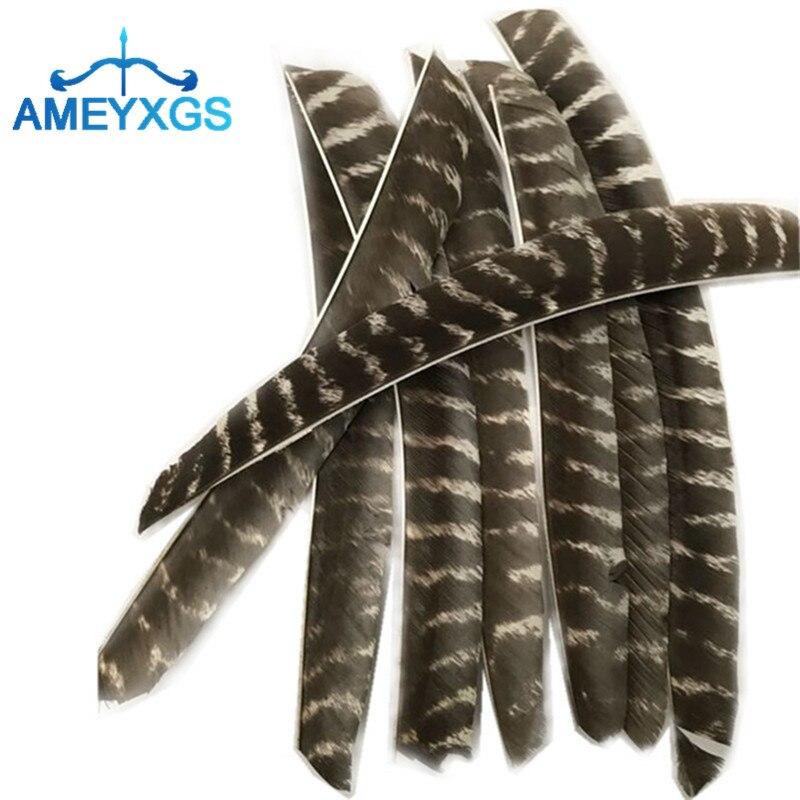 Flechas de Penas de Peru Flechas com Penas para Tiro ao Alvo e Guia Mesmo para Caça Acessórios para Tiro Esquerda Direita Ferramentas Faça Você 30 – Peças ou