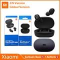 Xiaomi Redmi AirDots S TWS 5,0 Drahtlose Bluetooth Kopfhörer Mi Wahre Golbal Versio Ohrhörer Basic S Gaming Kopfhörer Link AI control