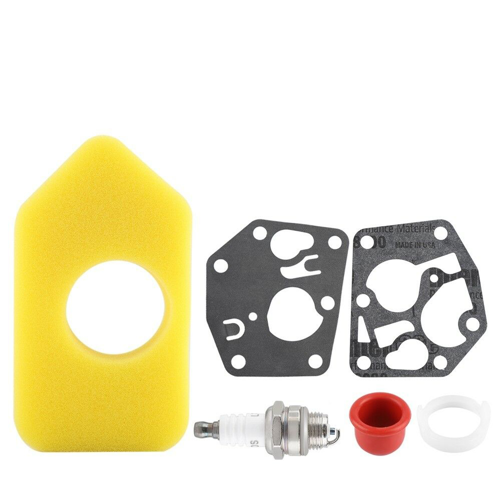 Accessories Metal Thread Automotive Carburetor Gasket Air Filter Repair Kit Diaphragm Tool Set For <font><b>Briggs</b></font> Stratton 495770 <font><b>795083</b></font> image