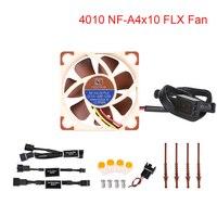 Noctua FLX NF A4x10 Fã 5/12V 4010 Fã Ventilador De Refrigeração 40x40x10MM 17.9 dB (A) almofada do Refrigerador do Ventilador Do Radiador Para O Ender 3 Pro 3D Peças Da Impressora|Peças e acessórios em 3D| |  -