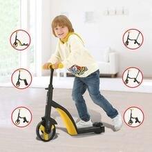 Скутер Балансирующий автомобиль детский многоцелевой трехколесный