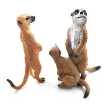 Simulation Squirrel Elephant Parrot Wombat Animal model figurine home decor miniature fairy garden decoration accessories figure