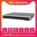 Hikvision 8/16 CH POE NVR DS-7608NI-K2/8 P & DS-7616NI-K2/16 P Встроенный Plug & Play 4K видео регистратор 2 SATA Интерфейсы 8 POE порт