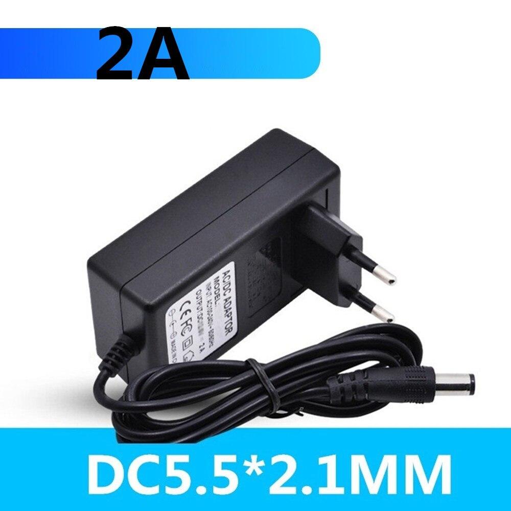 16.8V 21V 8.4V 12.6 12V Charger Carregador De DC 5.5*2.1MM 2A 18650 Charger IP Camera CCTV Charger Liion Battery Charger