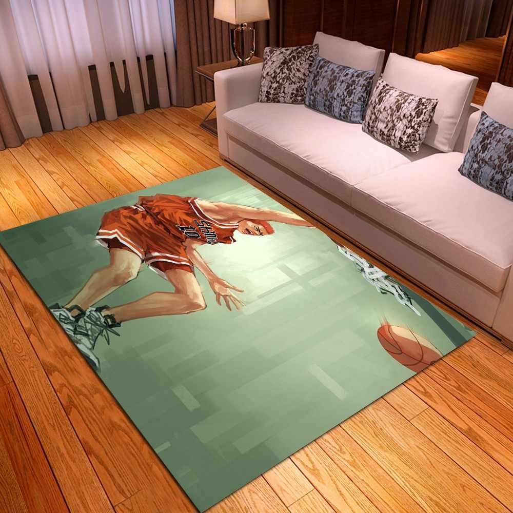 sport athlete anime dessin anime rectangle tapis decor tapis de sol salon anti derapant tapis de sol tapis de cuisine salle de bain tapis