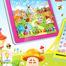 Learning Toys English Language Learning Machine Toy Pad Tablet 11 Function Letters Word