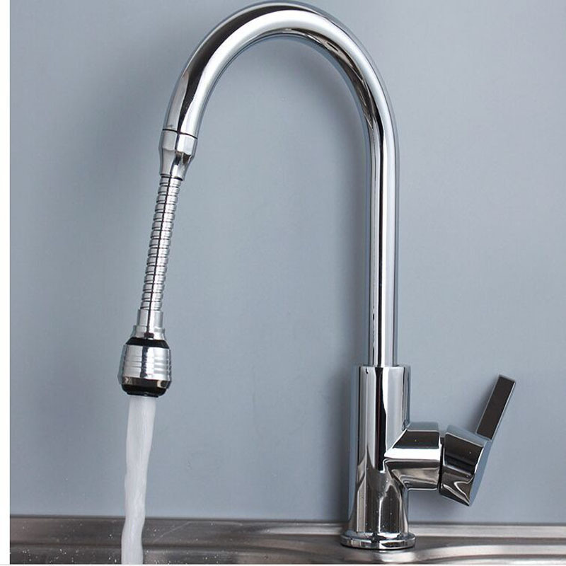 Kitchen Faucet Manufacturers Wholesale Copper Hot And Cold Leading Rotatable Cold Silver Tap Special Offer Extra-value