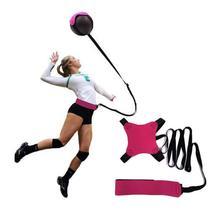 Горячая Распродажа Волейбольный мяч тренировочный пояс волейбольный спортивный пояс регулируемый Hands Free детский волейбол для взрослых снаряжение для тренировок