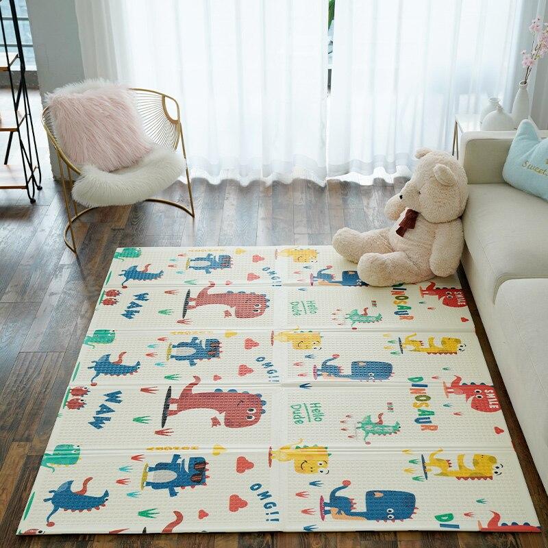 XPE bébé ramper tapis enfants jouant tapis bébé tapis tapis de jeu enfants jeu Puzzle tapis de sol pour enfants chambre tapis Portable