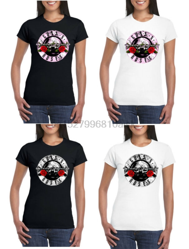 Guns N Roses Homme Vintage Bullet Logo T-Shirt