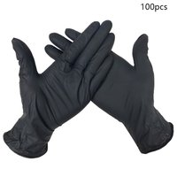 Wear Resistance Nitrile Disposable Gloves Food Medical Testing Household Cleaning Washing Gloves Anti Static Gloves|Safety Gloves| |  -