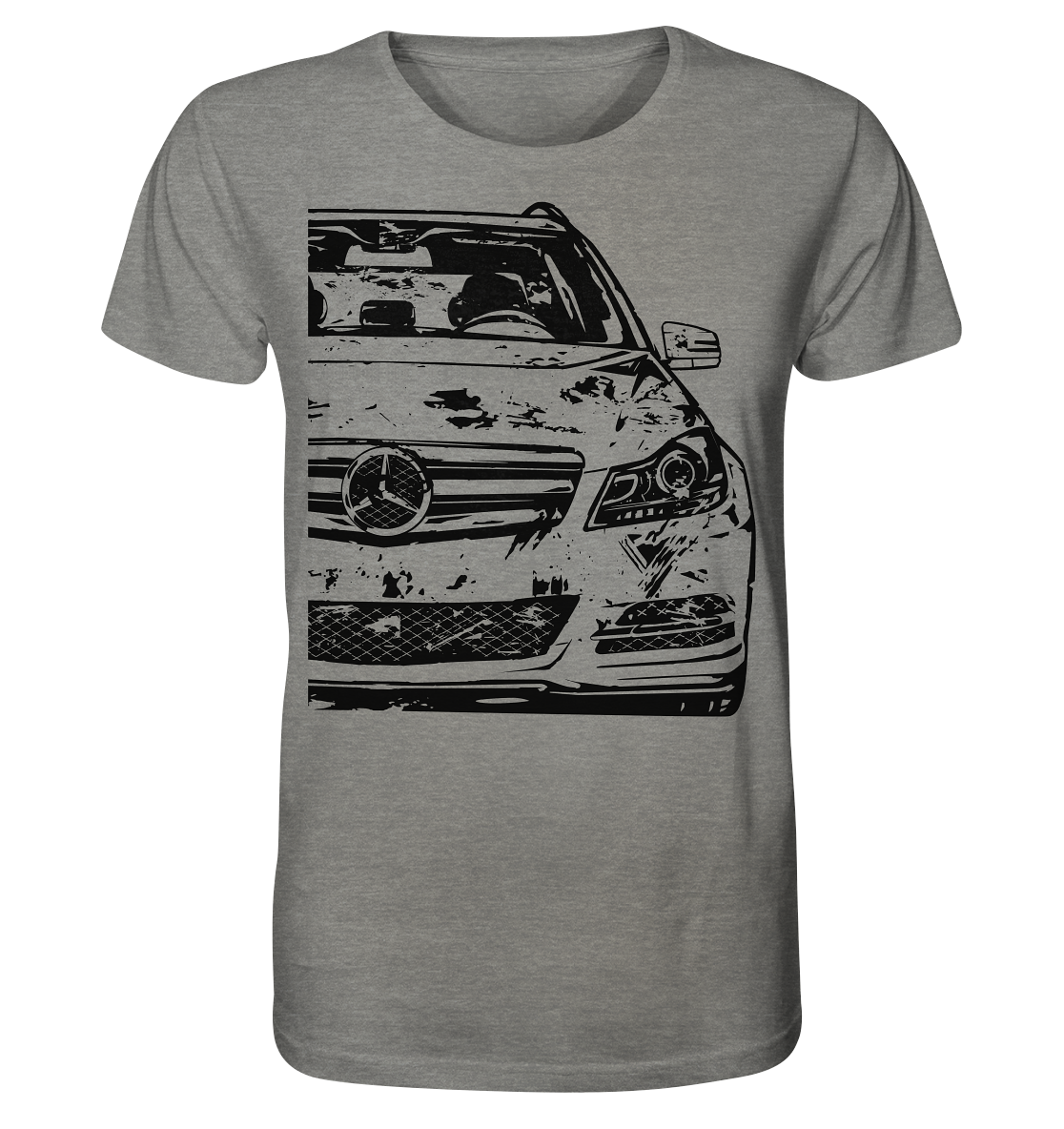 Mercedes W204 T Modell Shirt Meliert