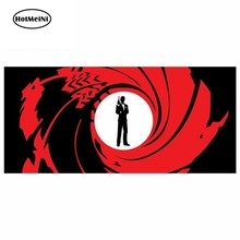 цена на HotMeiNi 13cm x 6cm For James Bond Agent 007 Car Decals Waterproof Suitable For All Types Of Vehicles Graffiti Sticker