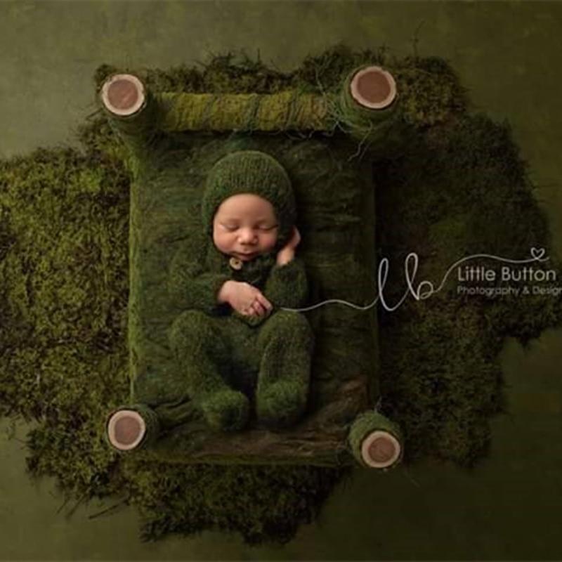 Реквизит для фотосъемки новорожденных, детский мохеровый комбинезон, костюмы с фотографиями фото детей 1