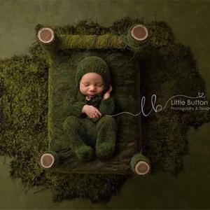 Image 1 - الدعائم التصوير حديثي الولادة ، طفل الموهير القدمين رومبير وتتسابق مع قبعة النوم للطفل التصوير الدعائم