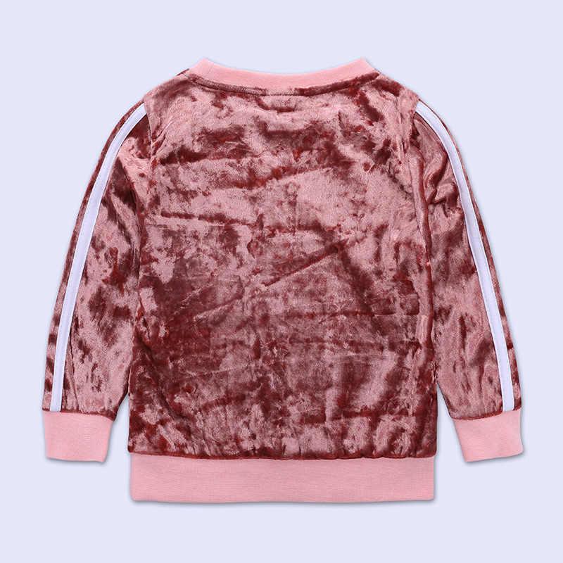 2019 jesienna odzież dla dzieci zestaw zima maluch dziewczyna ubrania dla dzieci ubrania dla dzieci dresy sportowe dla dzieci dresy dla dziewczyn 1 2 3 4 5 rok