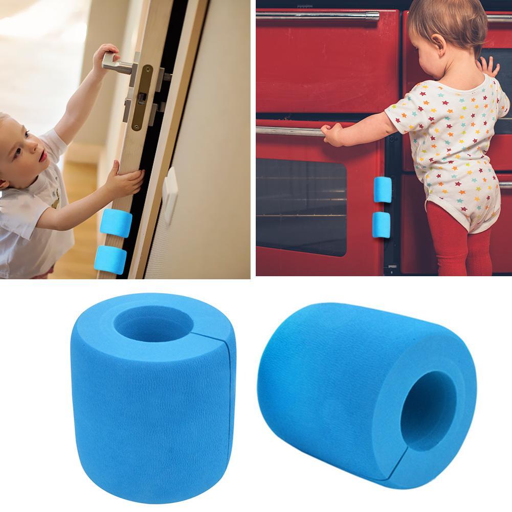 Newborn Baby Kids Cylinder Door Stopper Corner Guards Safety Finger Protector EVA Stopper For Drawer Sliding Bedroom Glass Door