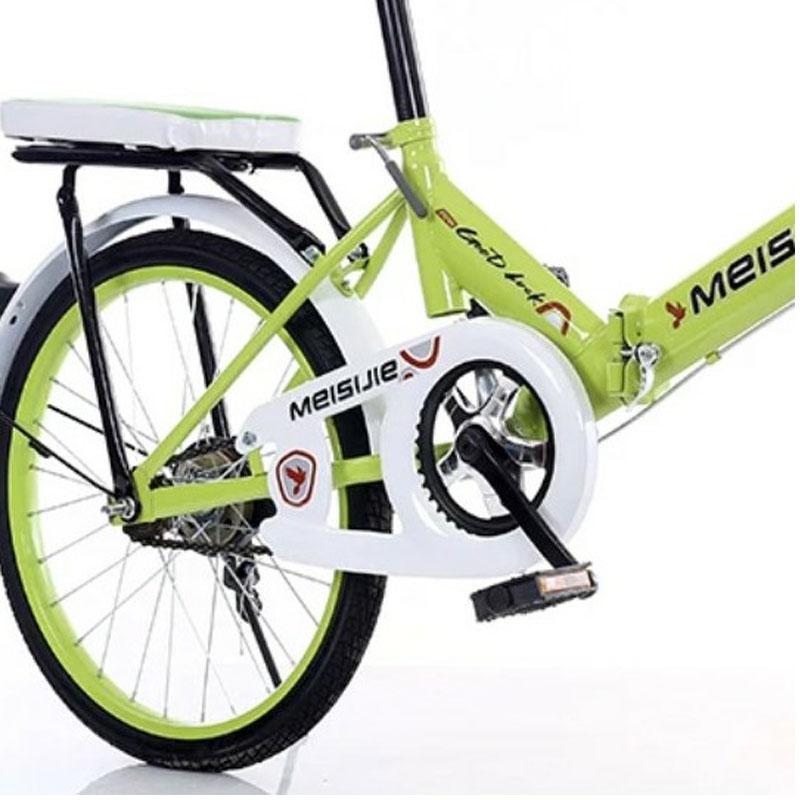 Dobrável 20 polegadas de bicicleta quadro rígido