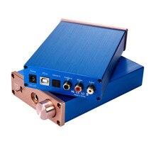 Kỹ Thuật Số Bộ Giải Mã Âm Thanh USB DAC Đầu Vào USB/Coaxial/Optical Đầu Ra RCA/6.35 Mm 192KHz DC12V Tai Nghe bộ Khuếch Đại Âm Thanh Chuyển Đổi