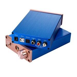 Image 1 - Kỹ Thuật Số Bộ Giải Mã Âm Thanh USB DAC Đầu Vào USB/Coaxial/Optical Đầu Ra RCA/6.35 Mm 192KHz DC12V Tai Nghe bộ Khuếch Đại Âm Thanh Chuyển Đổi