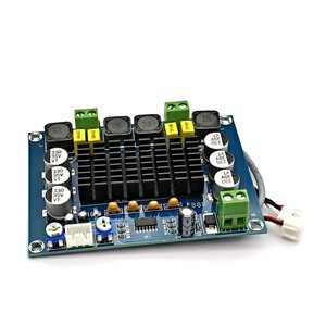 Image 5 - NEUE TPA3116 Dual kanal Stereo High Power Digital Audio Power Verstärker Bord TPA3116D2 Verstärker 2*120W Amplificador DIY