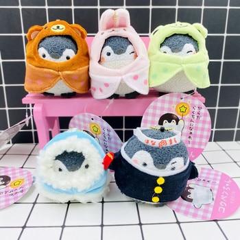 Japanese Kawaii positive energy Penguin Stuffed Toys Animal Penguin Pendant Plush Doll Cosplay Penguin Toy Dolls фото