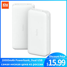 Redmi Power Bank 20000mAh Quick Charge 10000mAh Powerbank Dual USB Two Way Fast Charging Portable Ch
