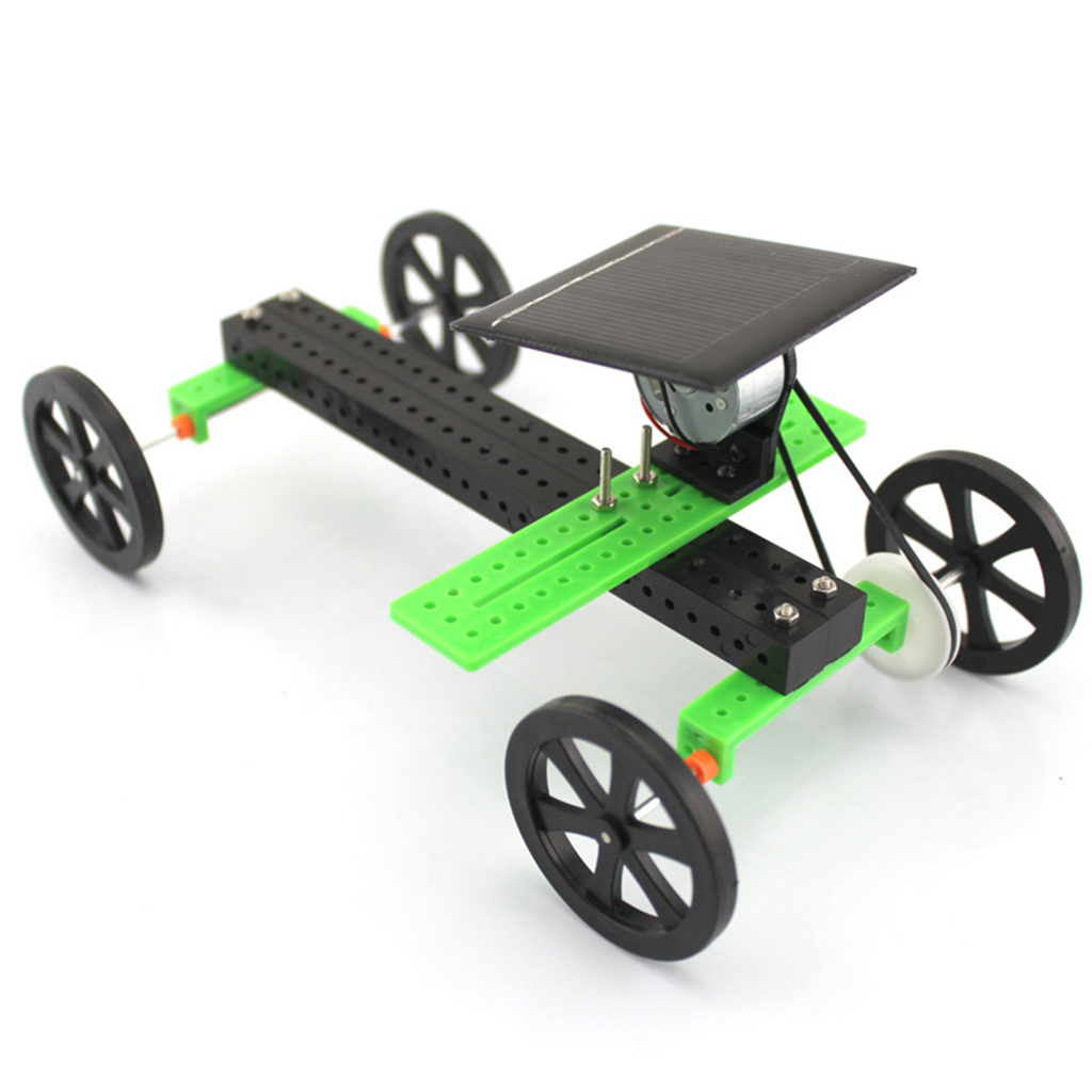 DIY Solar Powered Assemble Toy Car, Science Educational Kit for Kids Student