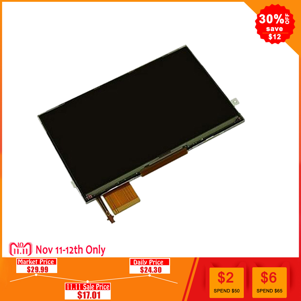 Original New Glass LCD Display Screen For Sony PSP 3000 PSP3000 Free Shipping