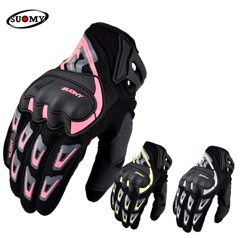 Новые брендовые Мотоциклетные Перчатки Suomy, летние мотоциклетные перчатки, водонепроницаемые сенсорные велосипедные перчатки для горного ...