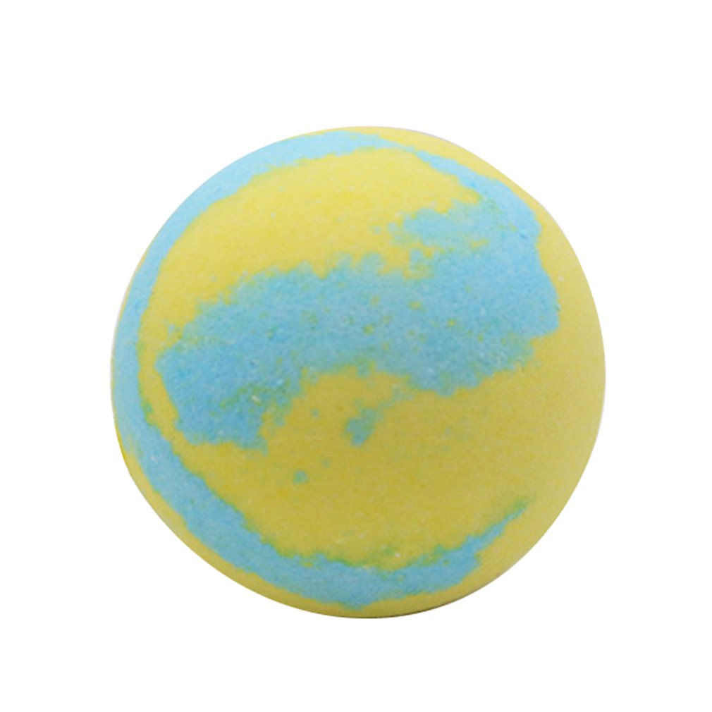 Multicolor Bath Ball Home Hotel Bathroom Spa Body Cleaner Bubble Fizzer Bath Bomb Handmade Birthday Gift For Girlfriend
