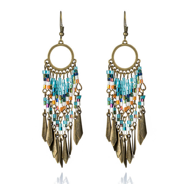 Fashion Vintage Résine Boucles D/'oreilles irrégulier Hexagone Chic Oreille Goutte Party Jewelry 2019
