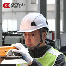 Protective Helmet Hard-Hat Work CK Tech.construction Engineering Rescue ABS Cap Breathable