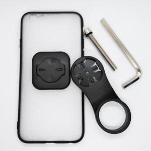 Image 1 - Support de support de téléphone portable de bicyclette de chapeau de tige avec le support de téléphone de vélo de boîtier de PC TPU pour liphone 6/6S/7/7 plus/8/8 Plus/11 Pro/12