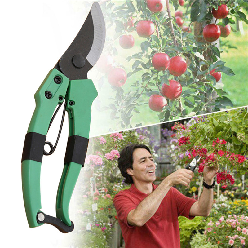 VOGVIGO Pruning shears strong carbon 8 inch garden hand pruning shears pruning machine cutting machine plant tools