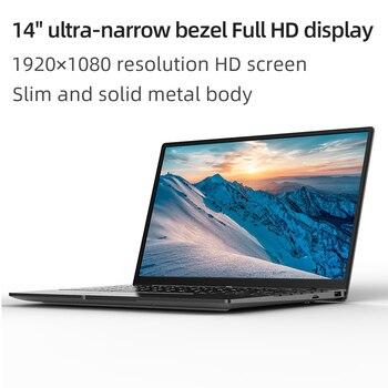 ALLDOCUBE GT Book Windows 10 Laptops 12GB LPDDR4  256GB SSD  Intel Celeron N5100 1920×1080 IPS Notebook 14.1 inch WiFi6 2