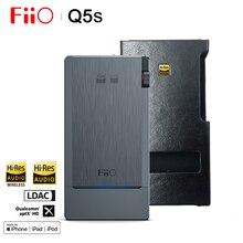 FiiO Q5s HIFI Audio Dual AK4493EQ Bluetooth 5.0 DAC Amplificatore Per Cuffie AMP PCM 768 k/32bit DSD256 2.5/ 3.5/4.4mm made per iphone