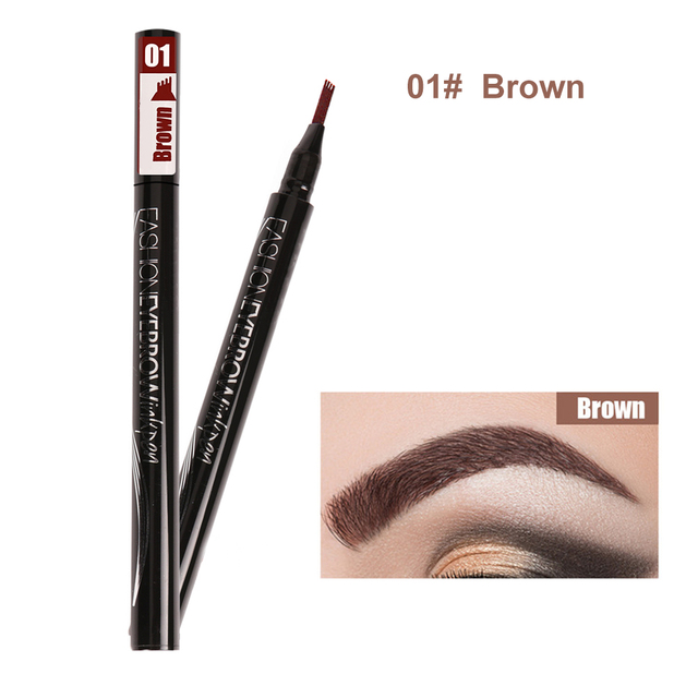 Waterproof Eyebrow Pencil Microblading Eyebrow Tattoo Pen Fine Sketch Liquid Eye Brow Tint Dye Pencil for Eyebrows Make up 4